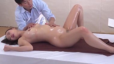 Jav Art nude models painted with brush