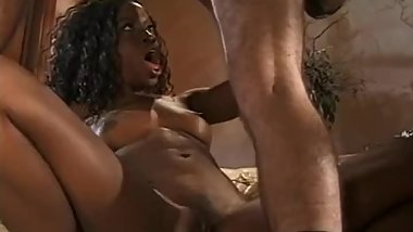 Black MILF Housewife Gives The Best Shaky HJ Around