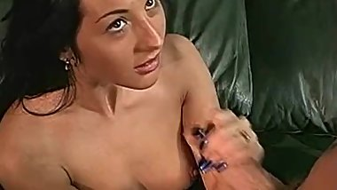 Handjob Honey Strokes Big Cock