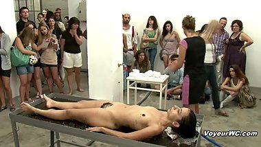 The best nude performance art, Naked Movement, Naked Dance Choreography.